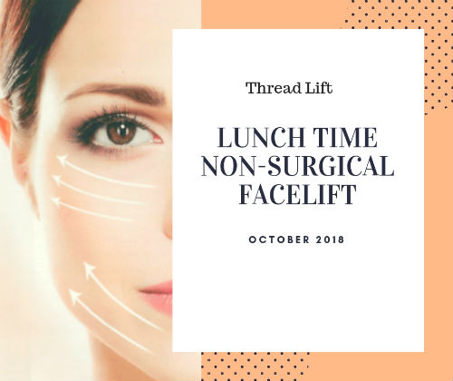 Thread Lift - Lunch time facelift Elite Medical Rocklin